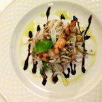 insalata di calamari e gamberi