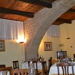 Un angolo del ristorante La taverna etrusca