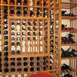 The wine storage