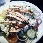 Greek Salad with Marinated Chicken
