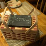 Our morning breakfast basket!
