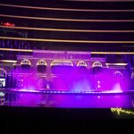 stunning water games and lights