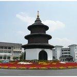 Tianjin Wenchang Pavilion Foto