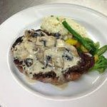 Ribeye Steak Au Poivre