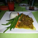Curry Goat Dinner @Altamont Court