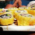 Tempura Roll so delicious!