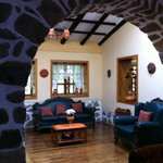 Beautiful archways in living area