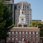 Independence Hall from the Mall