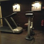 one area of the fitness center