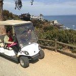 self driving golf car
