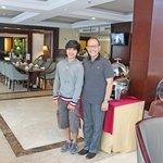 Dinz with Benny Adrian GM Asmila Bandung