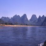 Guangdong and Guangxi Boundary River