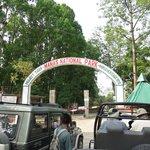 Manas NP Entry gate