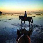 Sunset riding: no photo retouching!!!!