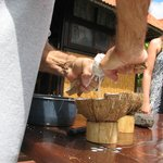 Hands-on Coconut Demonstration - Making Coconut Milk