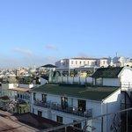 Veduta della città dalla terrazza
