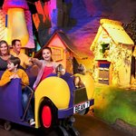 Cadabra ride at Cadbury World