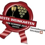 Award Best Swiss Wine Lists 2013