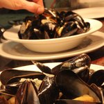 mussels and west country cider cream?