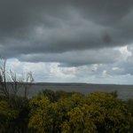 camera vista stagno di Cabras (con maltempo ;( )