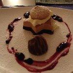 The dessert was divine.