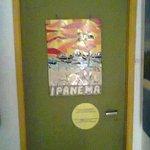 Porta do quarto Ipanema