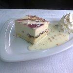 la crema catalana all'albicocca( dolce del giorno)