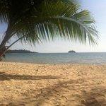 the beach (Kae Bai beach)