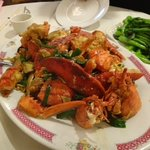 lobster chinese style ( ginger and garlic)