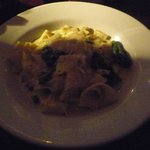 The pasta, it comes with tomatoes however the staff said it was fine I could order without
