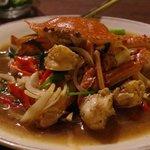 Curry de crabe, tout simplement merveilleux