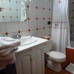 Baño de nuestra habitación.