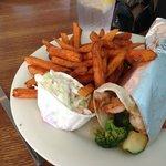 Shrimp and Veggie Wrap   Seafood   Southcoast MA