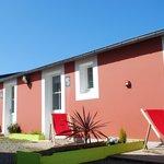 Chambres triples avec terrasse plein sud
