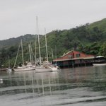 Enjoy the view from the Copra Shed Marina