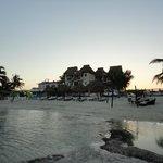 Area de playa del hotel