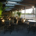 Rain or Shine, our covered patio always welcomes you!