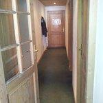 couloir de l'appartement