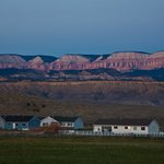 Sunset in Tropic, Utah, from Country Cabins