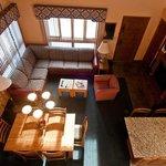 One Bedroom Loft - Loft View of Living Room