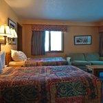One Bedroom Loft - First Floor Bedroom
