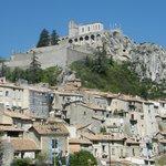 Vue de la citadelle depuis la vieille ville