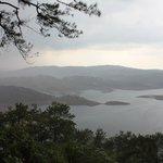 Monsoon view of Umiam / Barapani Lake