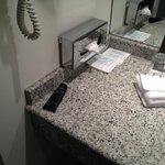 Unknow shower gel in the bathroom