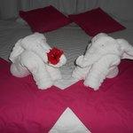 Hermosas figuras de toalla!