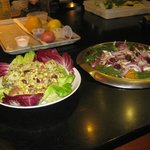 Examples from salad cooking class