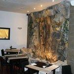 Cascata sala ristorante