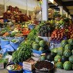 le mercado central de Sucre, situé juste en face de la Escondida