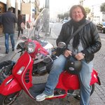 Emiliano Tufano, Vesparound tour guide, Naples