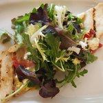 Grilled Flat Bread Salad
